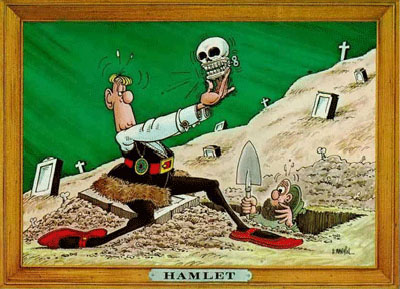 a letter to hamlet He immediately sends hamlet to england with rosencrantz and guildenstern,  along with a letter this letter instructs the english to kill hamlet when he arrives.