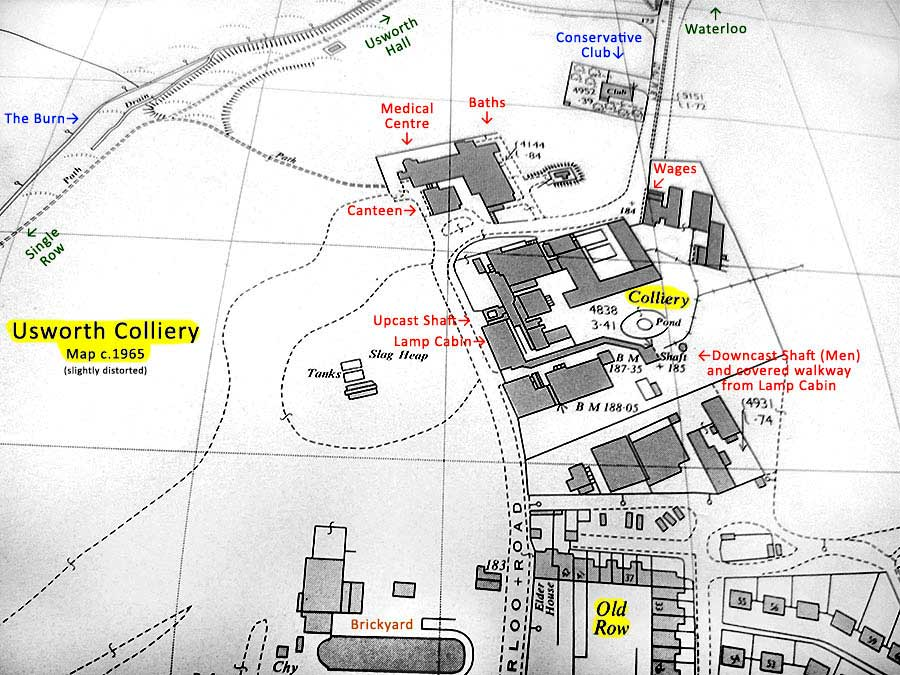 Usworth Colliery Map2.