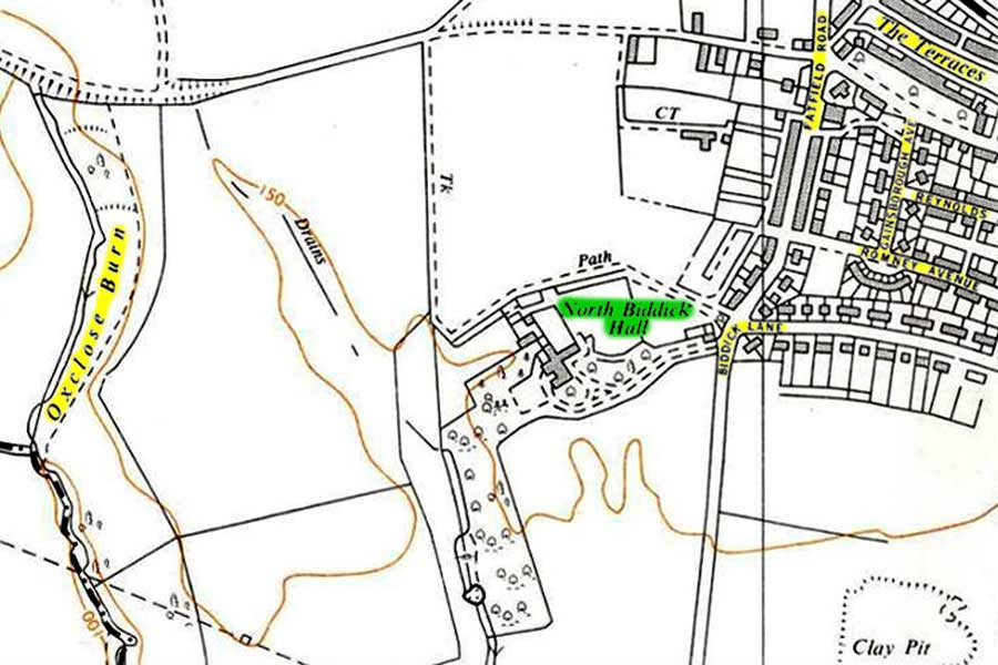 Map of Cook's Hall