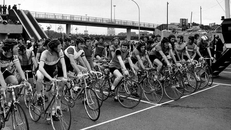 Galleries Cycle Race - Then.